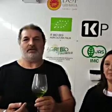 DEGUSTACJA OLIWY TERRE ROSSE – PALMA BARTOLINI I MARIO CIAMPETTI