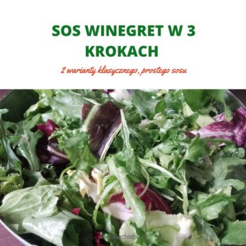SOS WINEGRET W 3 KROKACH