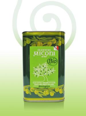 Oliwa extravergine Miconi ekologiczna z Marche