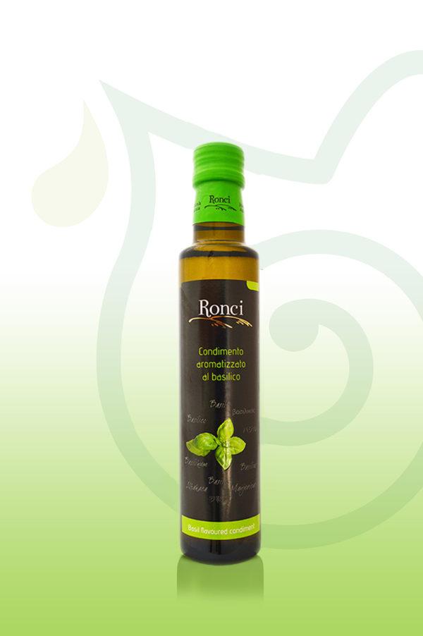 oliwa extravergine ronci bazyliowa