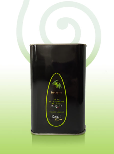 oliwa extravergine ronci puszka 1 litr BIO