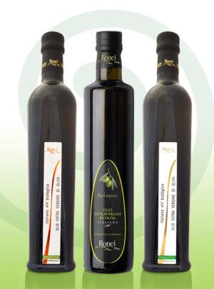oliwa extravergine zestaw TRE 500 ml