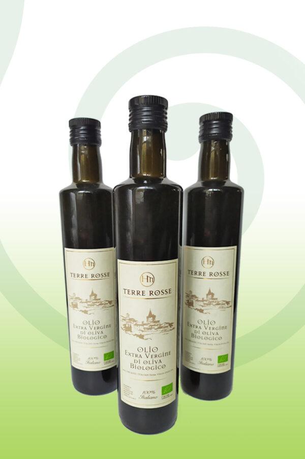 oliwa niefiltrowana terre rosse